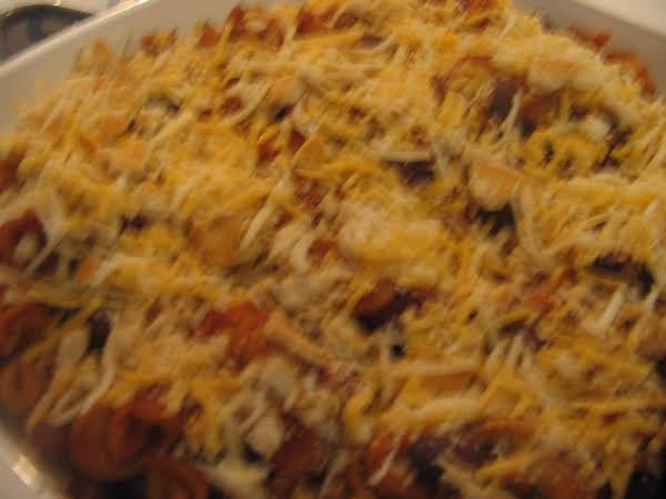 Pasta Chili Casserole Recipe