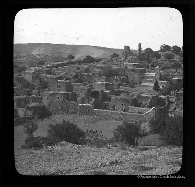 Photo: 'Bethany from Slope of Olives'