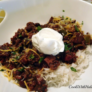 Tasty Beef Chili (a.k.a. Beef Beef n Cheese Cheese Chili)