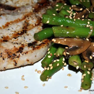 Sweet Sesame Green Beans.