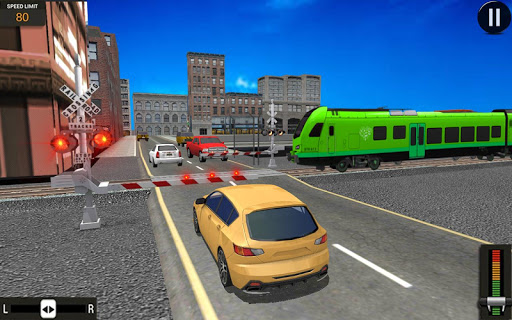 Modern Train Driving Simulator: City Train Games 2.1 screenshots 8