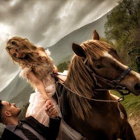 by Kine Akasi - Wedding Bride & Groom