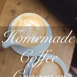 Homemade Coffee Creamer.