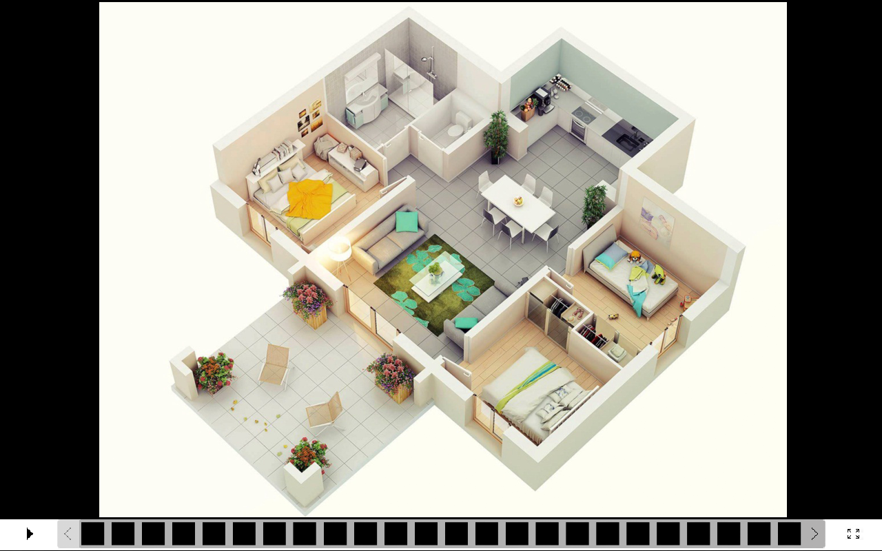 3d house design android apps on google play for The house design