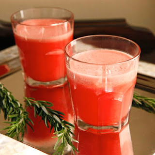 Watermelon Rosemary Frozen Lemonade