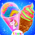 Yummy Ice Cream - Rainbow Unicorn Frozen Desserts icon