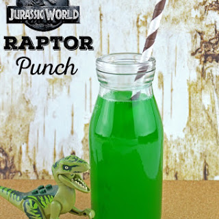 Jurassic World Inspired Raptor Punch.