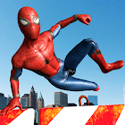Superheroes Parkour simulator 3D icon