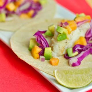 Pan-Seared Fish Tacos.