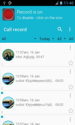Call record