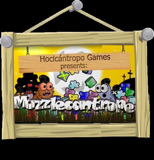 バブルのシューティングゲーム Muzzlecanthrope
