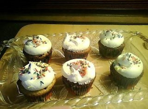 Yellow Cake And Brownie Topped Cupcakes Recipe
