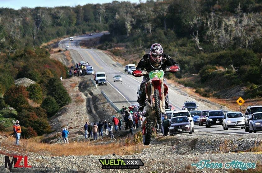 Se larga la histórica Vuelta de Tierra del Fuego