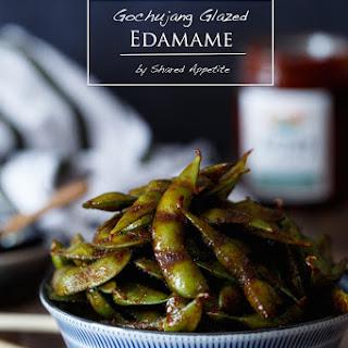 Gochujang Glazed Edamame Recipe