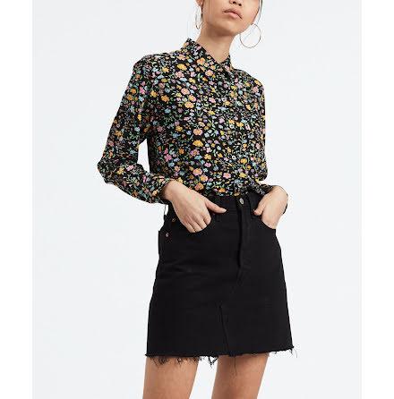 Levi's the ultimate boyfriend shirt dunsmuir floral meteoritete
