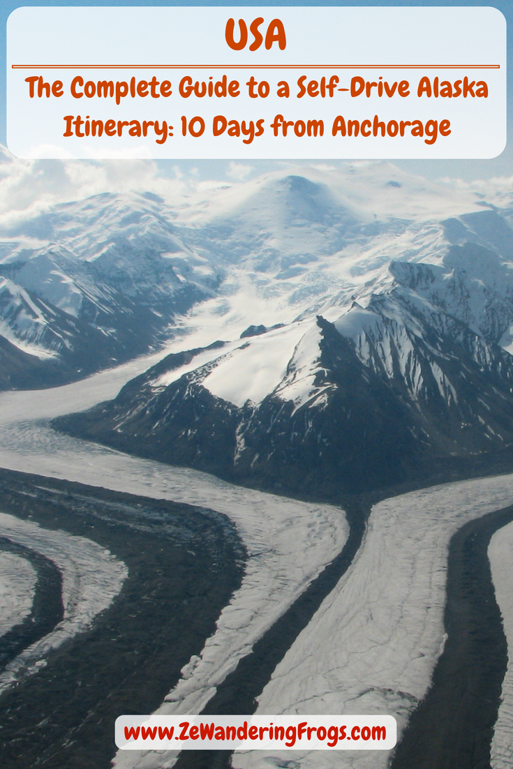#Alaska #Itinerary 10 Days // Glacier in Wrangell St. Elias National Park