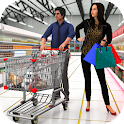 SuperMarket shopping with mom - Shopping Mall Game icon