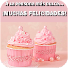 Felicitaciones de cumpleaños HD icon