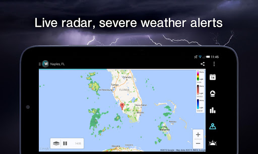 1Weather:Widget Forecast Radar screenshot 11
