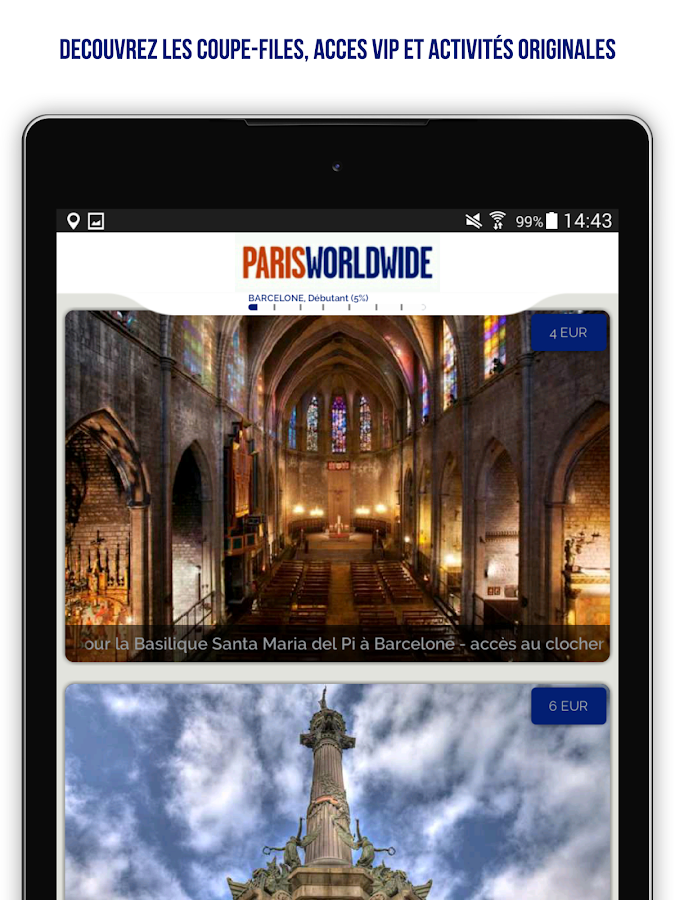 Paris Worldwide -  App Officielle Paris Aéroports – Capture d'écran