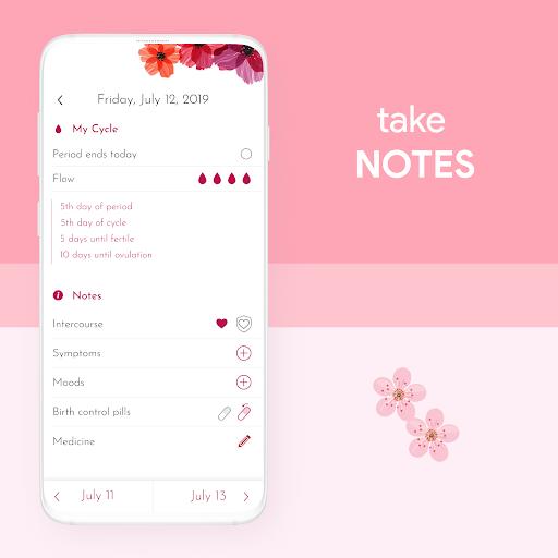 My Calendar - Period Tracker screenshot 2