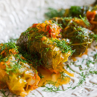 Holubtsi (Ukrainian-Style Stuffed Cabbage)
