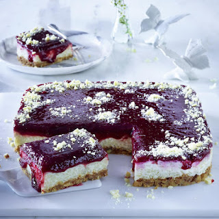 Cherry Rice Pudding Tart