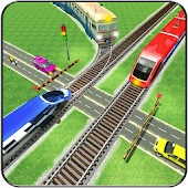 Train Racing & Driver Simulator 2017 : City trains