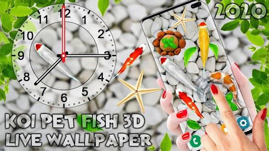 Koi Pet Fish Live Wallpaper 2020: HD Aquarium 1