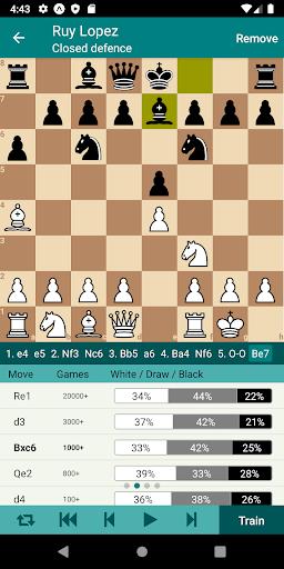 Chess Opener Lite 1.6.1 screenshots 1