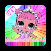 Coloring Book Surprise Dolls, LoL Mod