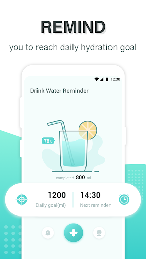 Download Drink Water Reminder - Daily Water Tracker, Record 1.0.6 2