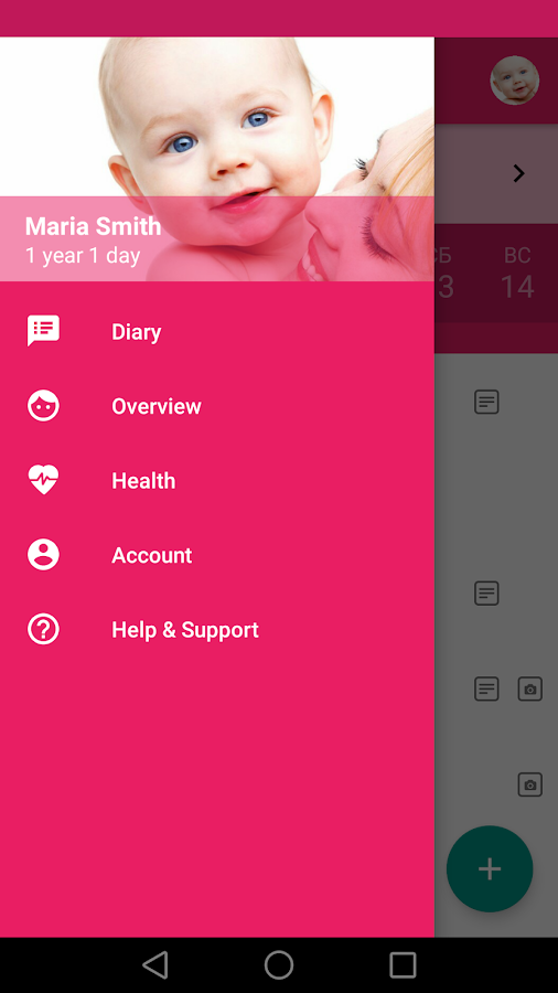 Baby Tracker. Breastfeeding Log & Nursing - MeGrow- screenshot