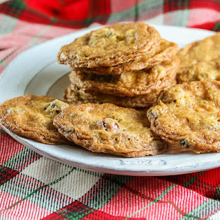 Gluten Free Cranberry and White Chocolate Chip Cookies.