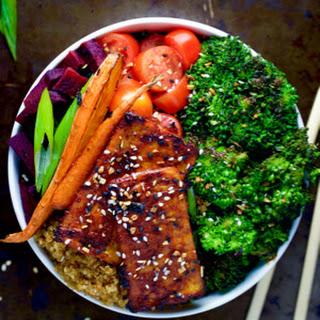 Simple Roasted Barbeque Tofu Recipe