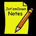 Jot'emDown Notes icon