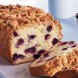 Blueberry-Basil Loaf.