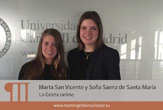 Photo: Marta y Sofía (Módulo Industrias Creativas)