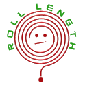 Roll length icon