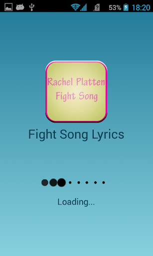 Rachel Platten Fight Song 1.0