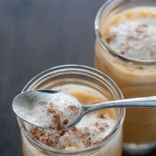 Pumpkin Iced Latte.