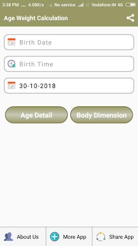 Download Height Weight Age Calculator APK latest version app
