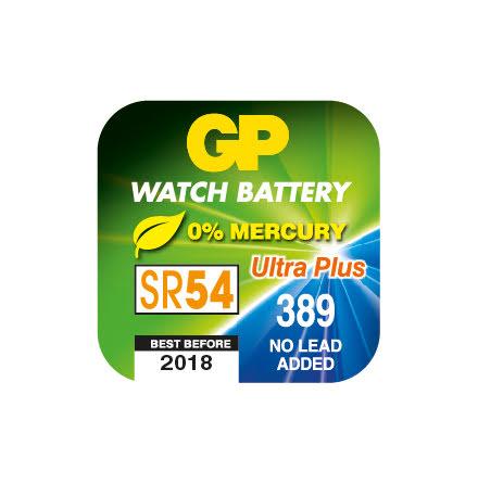 Batteri GP Silveroxid SR54 389