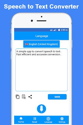 Speech to Text screenshot 1