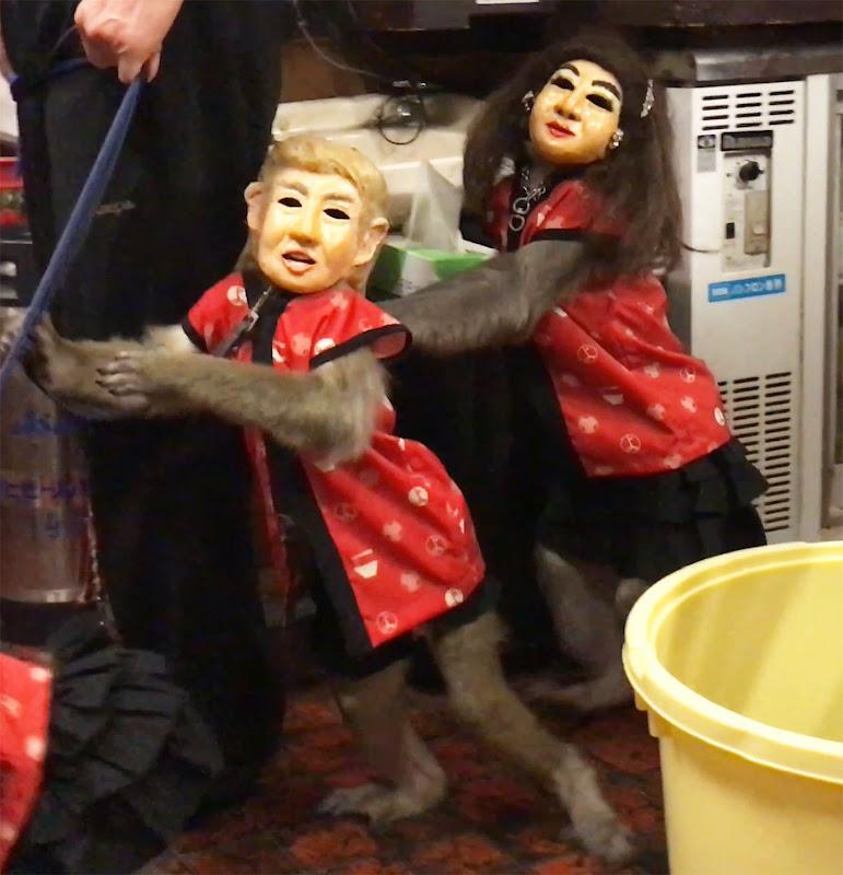 【魅惑グルメ】お猿さんがいる居酒屋キターーー! 接客するのはモンキーなんだよぉぉおおお♪ かやぶき