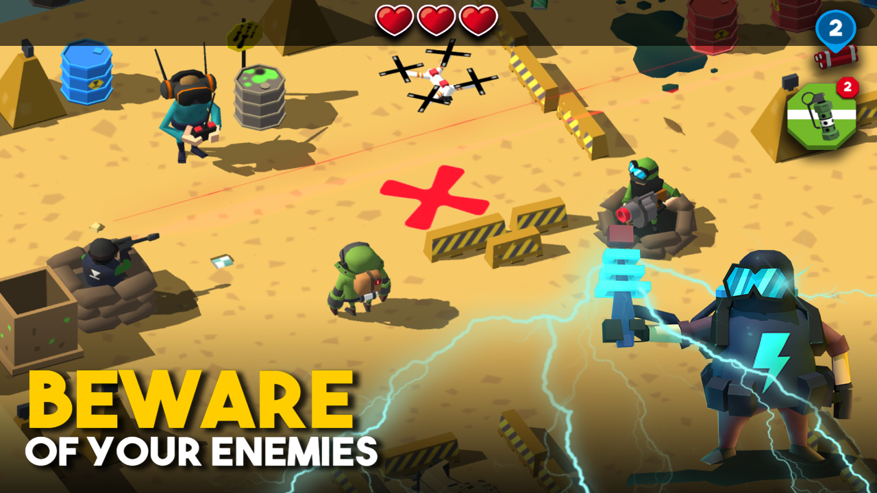 Bomb Hunters- screenshot