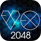 🌹 2048 EXO Puzzle Game