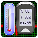 Body Temperature : Fever Diary icon