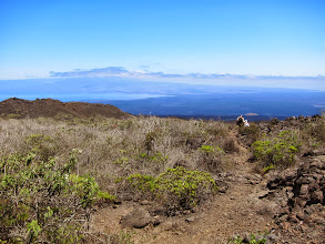Photo: Descending to Volcan Chico