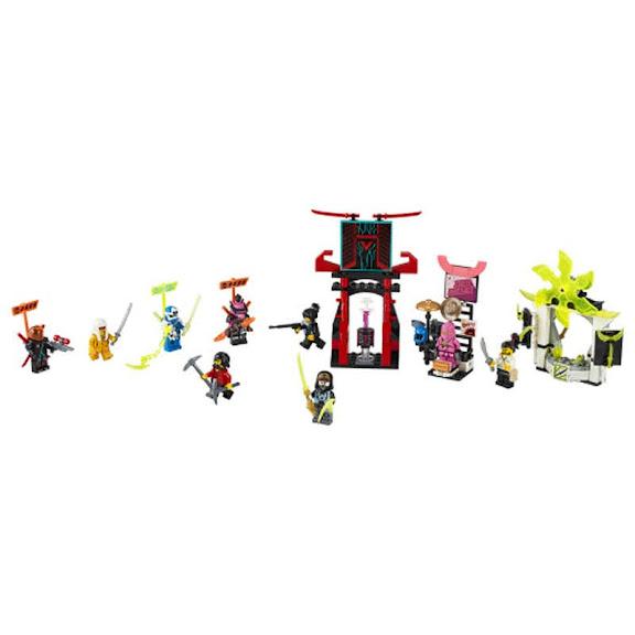 Contenido de Lego® 71708 Mercado de Jugadores